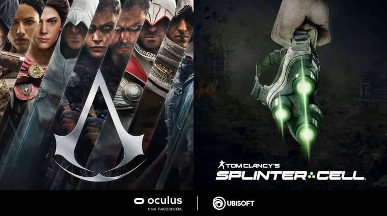 Bejelentettek egy-egy új Splinter Cell és Assassin's Creed játékot bevezetőkép