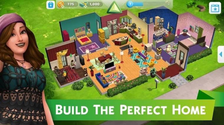 Megjelent az új The Sims mobiljáték bevezetőkép