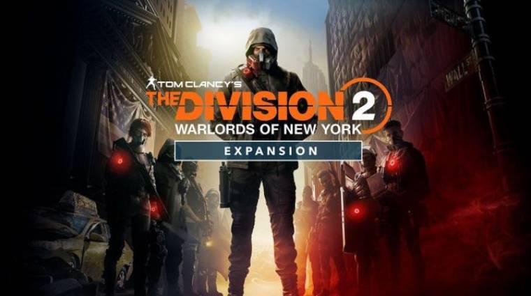 Igazi rosszfiú-vadászatra indulunk a The Division 2 Warlords of New York kiegészítőjében bevezetőkép