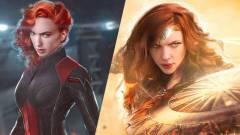 Ilyen lenne, ha Gal Gadot és Scarlett Johansson szerepet cserélnének kép