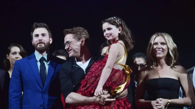 Zaklatják a Tony Stark lányát alakító 7 éves színésznőt kép