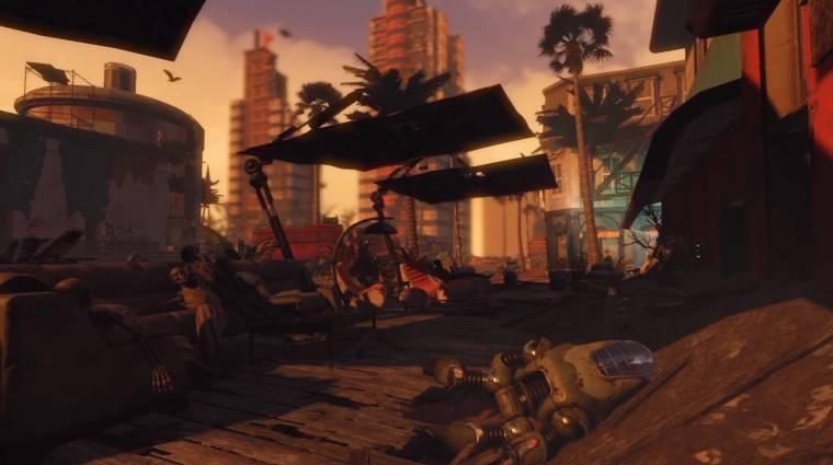 Fallout 4 - hangulatos trailert kapott a Miami mod bevezetőkép