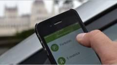 Huszonhatmillió mobilparkolás egy évben kép