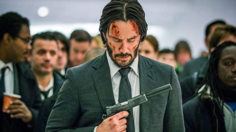 A negyedik rész után érkezik a John Wick világában játszódó sorozat bevezetőkép