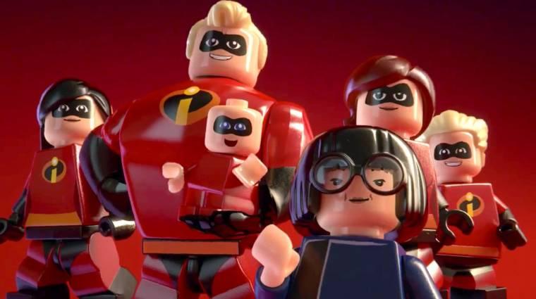 LEGO The Incredibles - vicces játékot ígér a gameplay trailer bevezetőkép