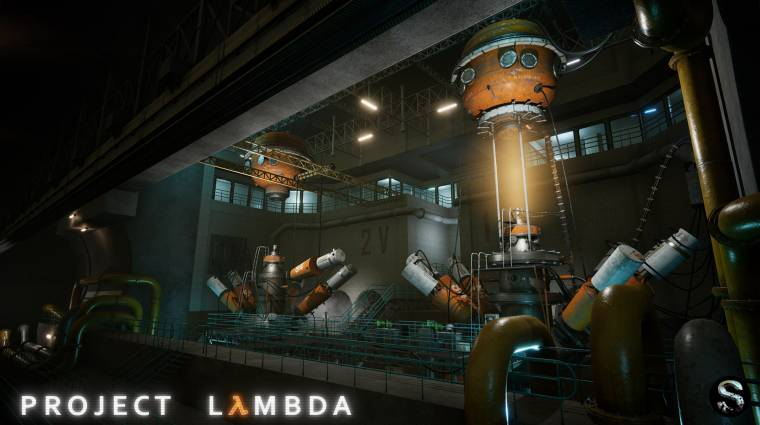 Friss képeken a Half-Life rajongói remake-je, a Project Lambda bevezetőkép