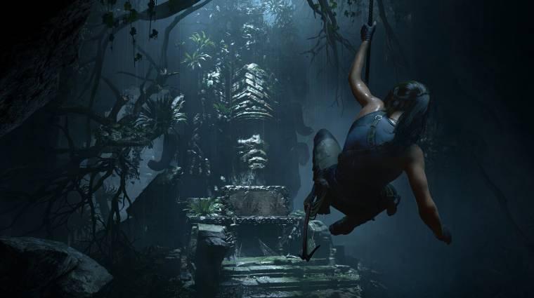 Shadow of the Tomb Raider - új traileren a kihívások és a fejtörők bevezetőkép