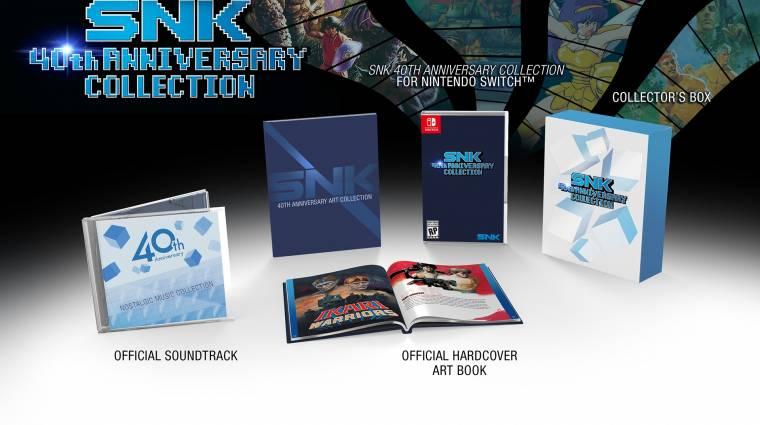 SNK 40th Anniversary Collection - elég komoly retro játékcsomagot kapunk bevezetőkép