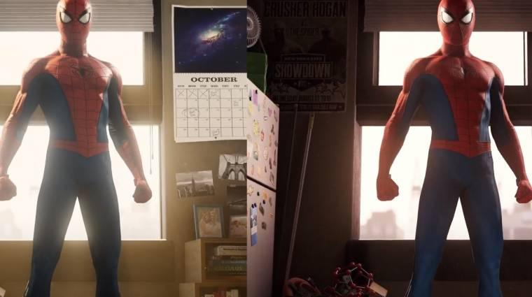 Így néz ki a Marvel's Spider-Man Remastered az eredetihez képest bevezetőkép