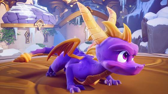 Spyro Reignited Trilogy infódoboz