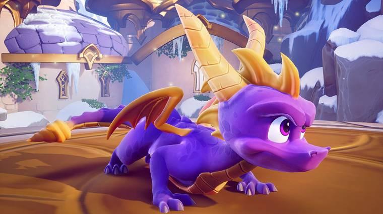 Spyro Reignited Trilogy - csak egy játék lesz a lemezen bevezetőkép