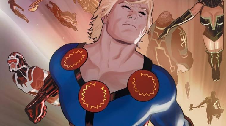 The Eternals - remek írókat igazolt a legújabb Marvel mozi bevezetőkép