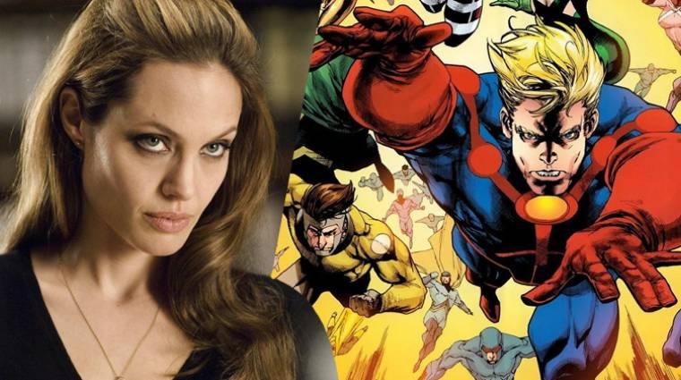 The Eternals - Angelina Jolie is csatlakozik a kozmikus Marvel mozihoz? bevezetőkép