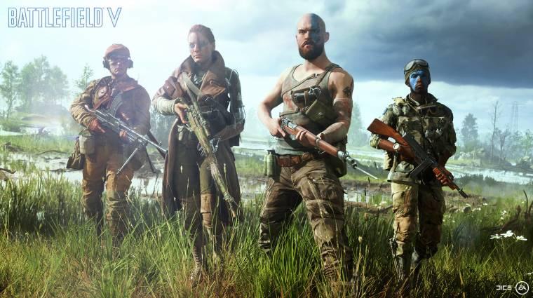Battlefield V gépigény - ezek már tényleg a valódi követelmények bevezetőkép