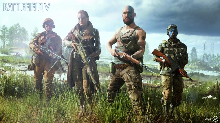 Battlefield V - bárki ingyen kipróbálhatja, aki kéri bevezetőkép