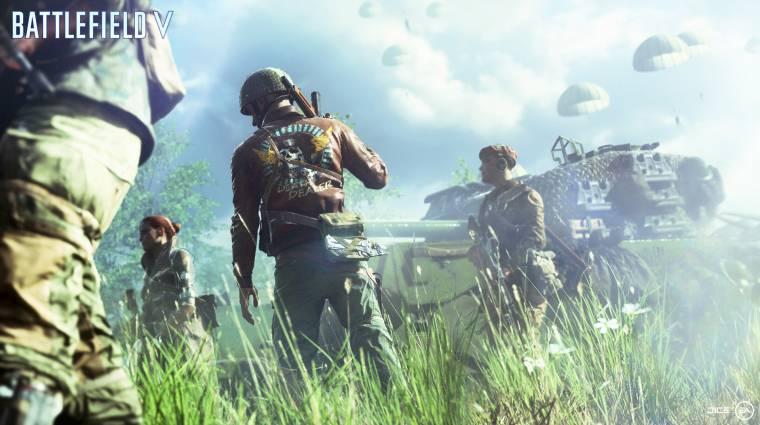 Battlefield V - visszavonják a TTK változásait, nem lesznek új playlistek bevezetőkép