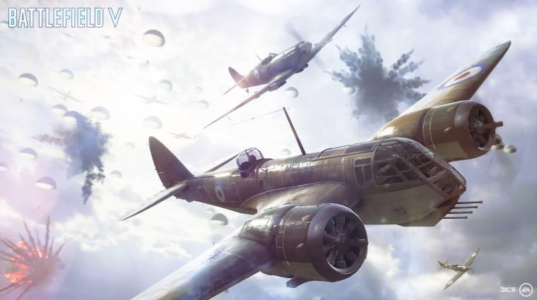 Battlefield V - így vették fel az ikonikus sugárhajtású repülő hangját bevezetőkép