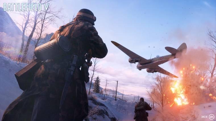 Battlefield V - újabb alfateszt lesz a jövő héten bevezetőkép