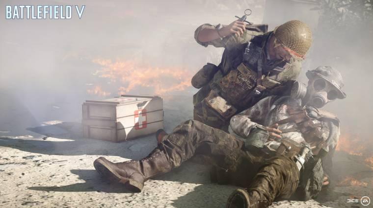 Battlefield V - nem húzhatjuk majd fedezékbe társainkat bevezetőkép
