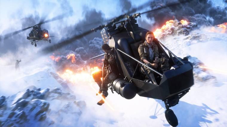 Battlefield V - kikerült a kétfős mód a Firestormból, mert kevesen játszották bevezetőkép