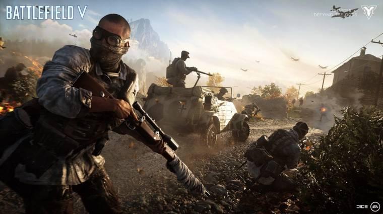 EA Play 2019 - ismerjétek meg a Battlefield V új pályáit bevezetőkép