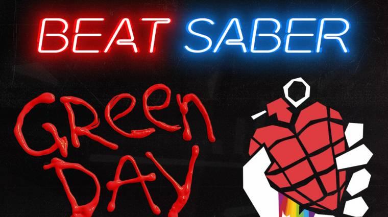 Green Dayre is szeletelhetünk a Beat Saberben bevezetőkép