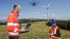 Drónokkal ellenőrzik az erőműveket kép