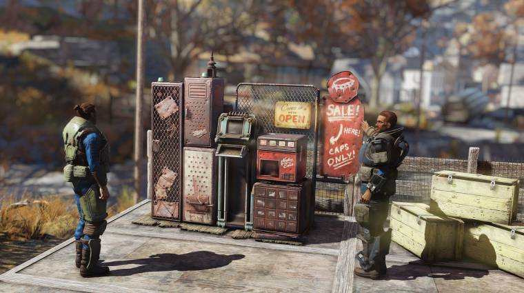 Fallout 76 - nemsokára saját boltot is üzemeltethetünk a játékban bevezetőkép