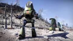 A Fallout 76 egyik robotját csak a kommunista propaganda érdekli, semmi más kép