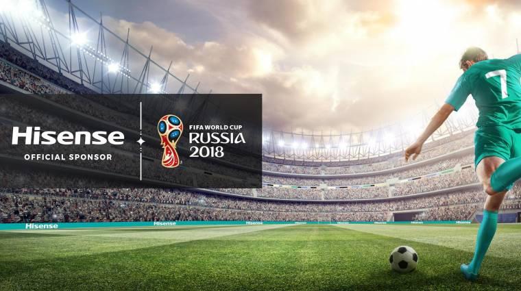 Utazz Hisense klímával a foci vb-re, vagy élvezd a meccseket egy 55 colos 4K HDR tévén! kép