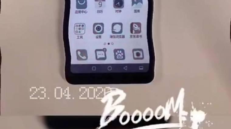 Színes E-Ink kijelzővel jön a Hisense legújabb mobilja kép