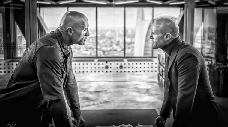 Hobbs & Shaw – így fest Dwayne Johnson és Jason Statham a Halálos iramban spinoffjában bevezetőkép