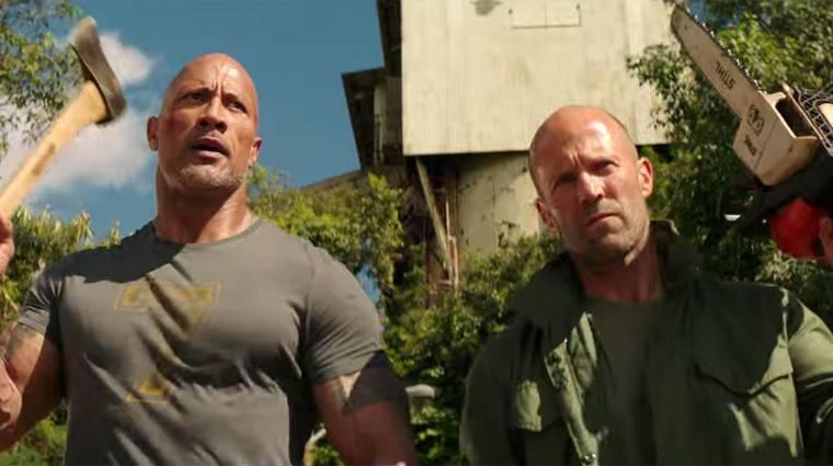 Halálos iramban: Hobbs & Shaw - Dwayne Johnson filmje lenyomta a Bosszúállók: Végjátékot bevezetőkép