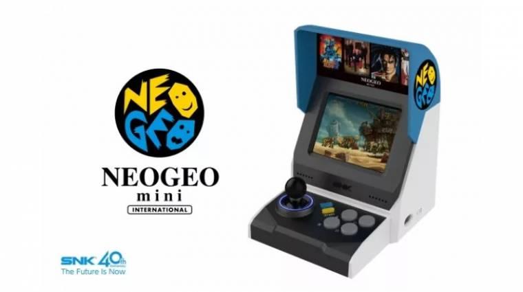 40 játékkal jön a Neo Geo Mini bevezetőkép