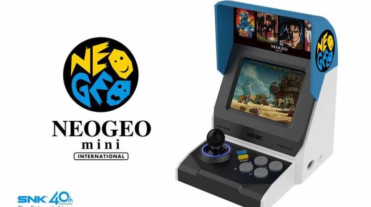 Ezekkel a játékokkal jön a Neo Geo Mini bevezetőkép