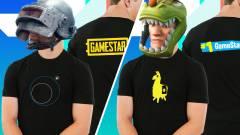 Már online is rendelhetők a PUBG-s és Fortnite-os GameStar pólók! kép