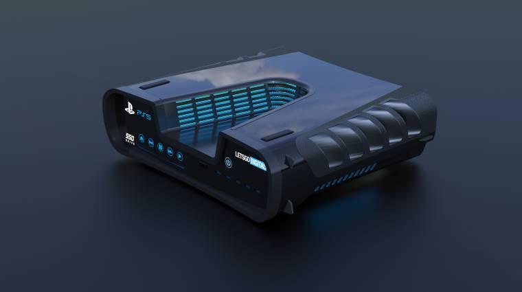 Kiszivárgott egy fotó a PlayStation 5 devkitjéről és kontrolleréről bevezetőkép