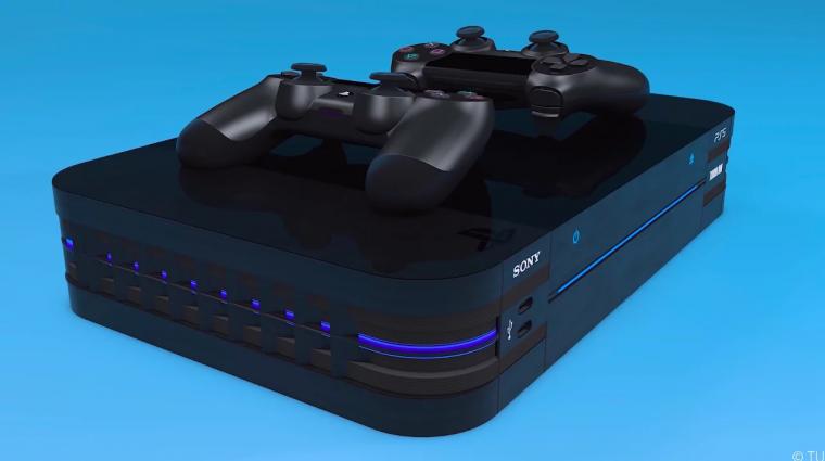 Leesne az állunk, ha ilyen lenne a PlayStation 5 bevezetőkép