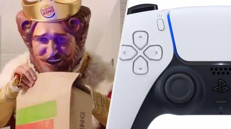 Ezért állt össze a Burger King és a Sony: PlayStation 5-öt lehet nyerni a gyorsétteremben bevezetőkép