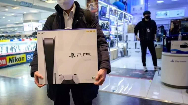 10 millió eladott példánnyal már a PlayStation 5 a Sony leggyorsabban fogyó konzolja bevezetőkép