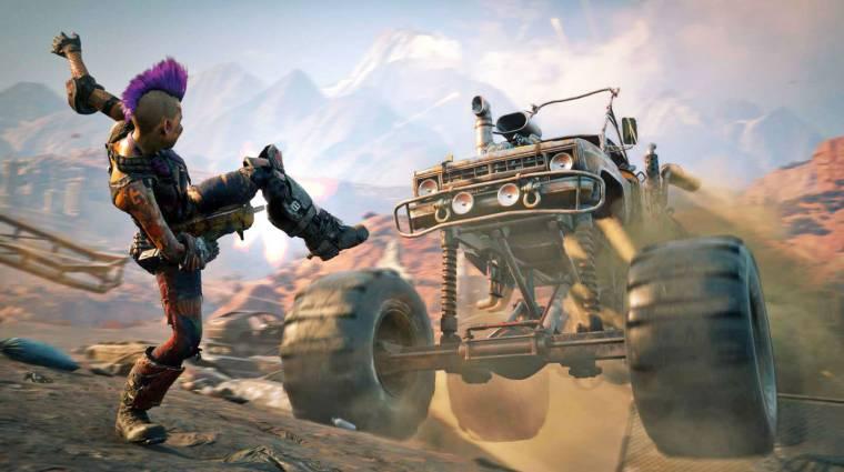 Rage 2 - megint itt egy új trailer a játék véres világáról bevezetőkép