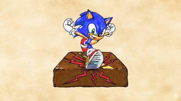 Napi büntetés: rémálomba illő Sonic tortát készített Eddie Murphy bevezetőkép