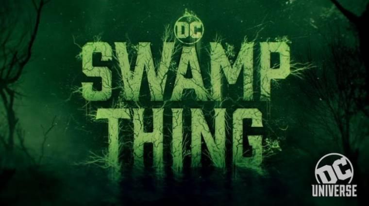 Horrorisztikus a Swamp Thing első teasere kép