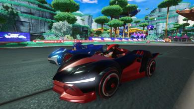 Team Sonic Racing megjelenés - csúszik, nem is keveset