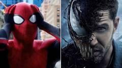 Tom Hardy nagyon szeretne egy Venom-Pókember crossovert kép