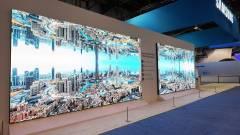 A Samsung bemutatta The Wall Professional kijelzőjét kép