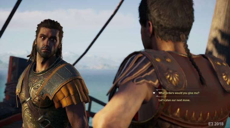 Google Chrome-ból is játszható lesz az Assassin's Creed Odyssey bevezetőkép