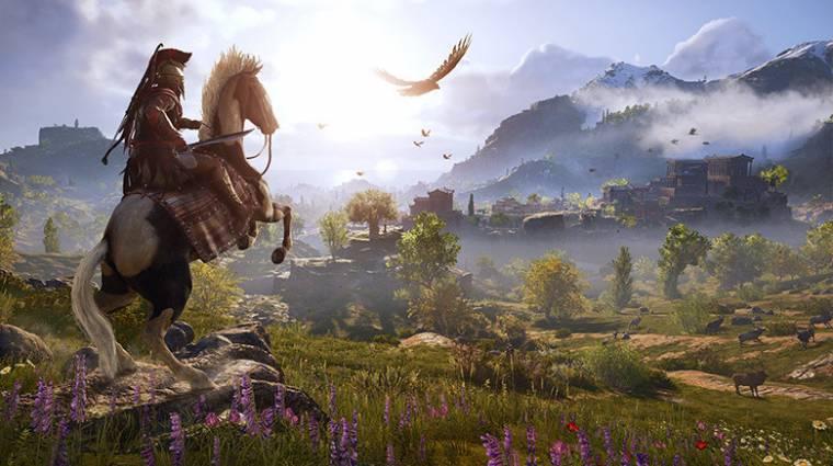 Assassin's Creed Odyssey - a jelenlegi generáción még egy AC sem startolt ilyen jól bevezetőkép