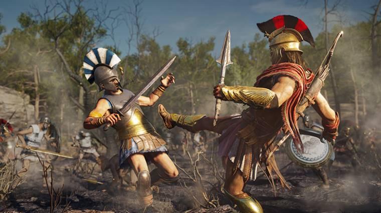 Assassin's Creed Odyssey - most ingyen behúzható egy DLC bevezetőkép