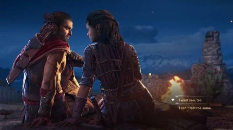 E3 2018 - szabad a románc az Assassin's Creed Odyssey-ben bevezetőkép